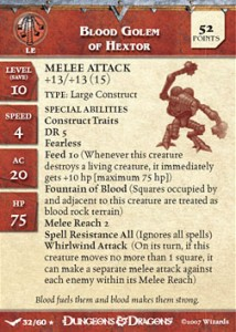 blood golem of hextor card